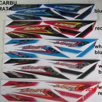 Striping motor honda beat karbu icon mata