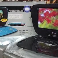 DVD PORTABLE GMC + TV 7' INCH BERGARANSI RESMI