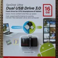 Flashdisk SanDisk Ultra OTG 16GB USB 3.0