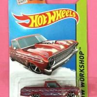 Hot Wheels '65 Ford Ranchero Red