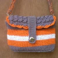 harga Tas Rajut Wanita Elegance Warna Abu2 Orange (+furing N Reslet ) Tokopedia.com