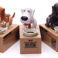 """""""Choken Bako"""" Celengan Anjing Pemakan Koin Unik"""