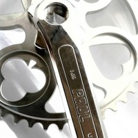 Crankset PAUL 48T 165mm Silver Polish