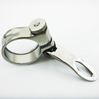 Seat Clamp TAT Quick Release 35mm Silver