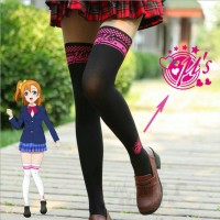 PANTYHOSE Black LOVE LIVE Import Taobao Anime Cosplay Casual