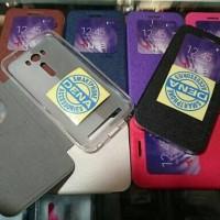 Leather Flip Case Asus Zenfone 2 Laser 5 Inch Ume Classic Ori