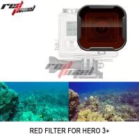 GOPRO RED FILTER SNAP-ON FOR HERO 3 + / HERO 4
