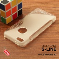 Apple iPhone 5c Soft Jelly Gel Silicon Silikon TPU Case Softcase Clear