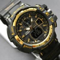 Jual Jam tangan pria anak cowo digital terbaru g shock casio ripcur gold Murah