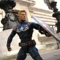 Cap America Winter Soldier (Steve Roger) Diamond Toys Marvel Select
