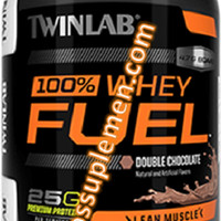 TWINLAB WHEY PROTEIN FUEL CHOCOLATE&BANANA 5 lb