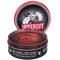 DELUXE POMADE UPPERCUT (STRONG HOLD & WATERBASED) 3.5OZ FREE SISIR