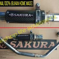 harga Knalpot Original Sakura Yamaha Vixion R15 Tokopedia.com