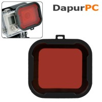 Housing Glass Filter For GoPro 4/3 + Polar Pro Aqua Cube Snap-on Dive