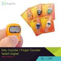 hand counter / tally counter / tasbih digital / finger counter