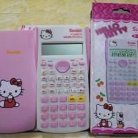 kalkulator science hello kitty dan doraemon