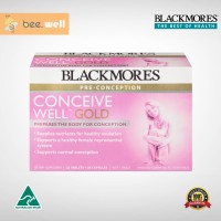 READY STOCK - Blackmores Conceive Well Gold 56 Tablets