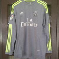 Jersey Real Madrid Away 2015/2016 Ls Grade Ori Murah