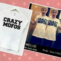 kaos / tshirt / baju One Direction / 1D Crazy Mofos