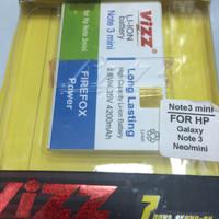 baterai vizz double power samsung galaxy note 3 neo 4200mAh