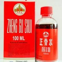 Zheng Gu Shui 100 ml - Obat keseleo / terkilir / Retak-patah tulang