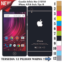 harga [promo] Garskin/skin Infinix Hot 2 X510 - Apple Iphone Style Tokopedia.com