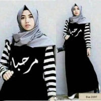 Hijab Marhaban Hitam
