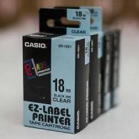harga Ez Label Tape Printer Casio 18 Mm Tokopedia.com