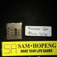 harga iPhone 4 / 4S / CDMA Konektor SimCard / Rumah Sim Card Tokopedia.com