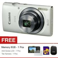 Camdig Canon Ixus 160 free 8gb, tas dan antigores