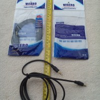JACK MIC 2,5 STEREO IN - OUT + KABEL VISERO