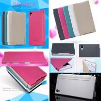 Nillkin Sparkle Leather Case Sony Xperia Z5 Flip Cover PU Diary Book