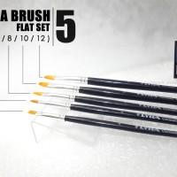 Lyra Art Brush Flat Set