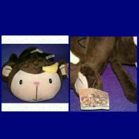 boneka nici fall in love monkey / monyet pisang original import