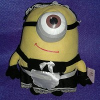 boneka minion apron