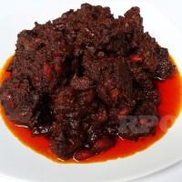 Rendang Padang Online Daging Sapi Campur Kacang Merah Kemasan 300 Gram