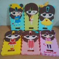 SILICON CASE RUBBER 3D OPPO NEO K R831K KOREAN GIRL