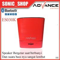 Speaker Portable Bluetooth Advance ES030K Merah