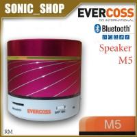 Speaker Portable Bluetooth Evercoss M5 Merah