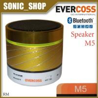 Speaker Portable Bluetooth Evercoss M5 Gold