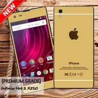 harga Garskin/skin Infinix Hot 2 X510 New Original - Motif Iphone Gold Tokopedia.com