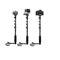 Extendable 4 Sections Handheld Monopod Tongsis for Xiaomi Yi/GoPro/HP
