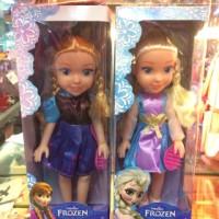 Boneka Frozen Fever Elsa Anna Disney Musik Lagu Nyanyi Singing Doll