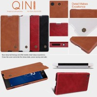 harga Nillkin Qin Leather Case Sony Xperia M5 Flip Cover Tokopedia.com