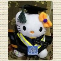 Jual Boneka Wisuda Hello Kitty - 25 cm Murah