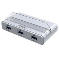 Unitek Smart OTG Charging Docking Station with USB 3.0 4 Port Hub