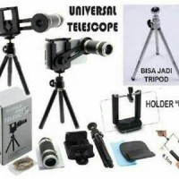 harga Lensv004 Universal Telescope Mobilephone (teropong Smartphone) 8x Zoom Tokopedia.com