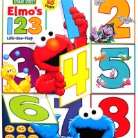 harga Sesame Street Elmo's 123 Lift the Flap Board Book with over 50 Flaps Tokopedia.com
