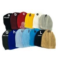 kupluk beanie knit anak bayi rajut topi