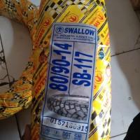 harga Ban Semi Cross Matic Swallow SB117 Street Enduro 80/90 - 14